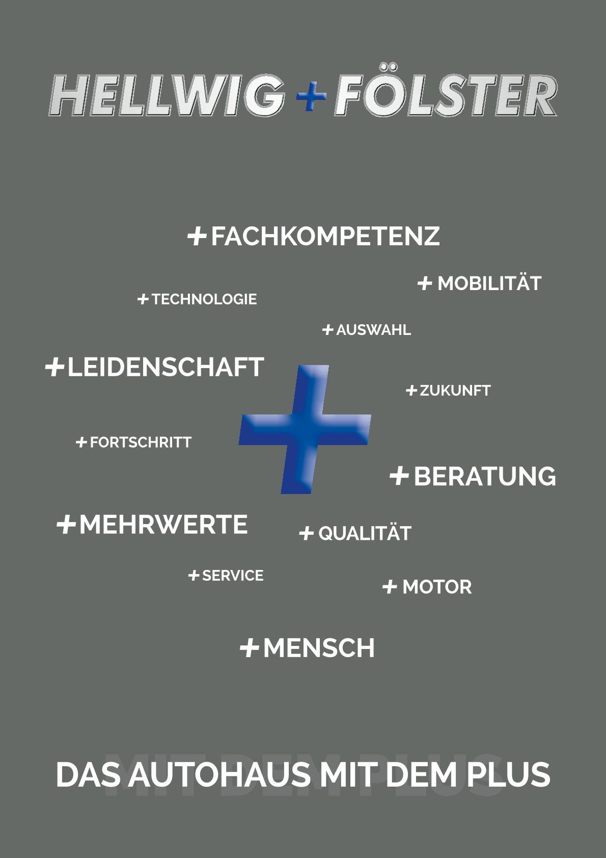 Titelseite Firmenbroschüre Hellwig+Fölster