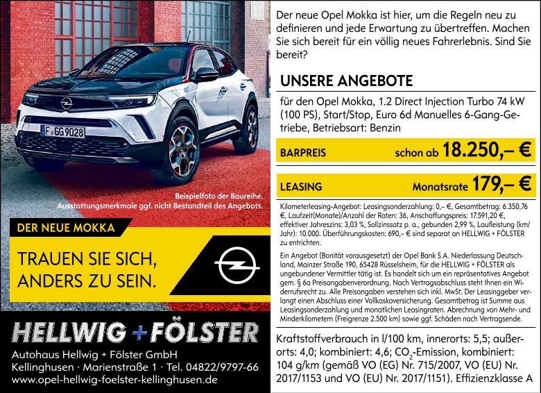 Angebot Opel Mokka