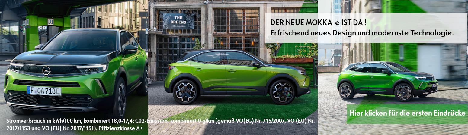 Der neue Opel Mokka-e